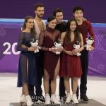 2018 Winter Olympics - Free Dance - Venue Ceremony - 20180220_02