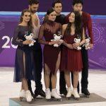 2018 Winter Olympics - Free Dance - Venue Ceremony - 20180220_03