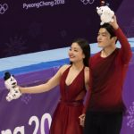 2018 Winter Olympics - Free Dance - Venue Ceremony - 20180220_05