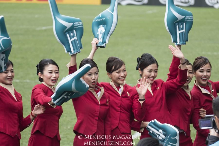 Hong Kong Sevens 2018 - Cathay Pacific girls_02