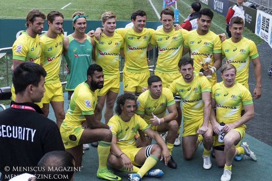 Hong Kong Sevens 2018 - Team Australia