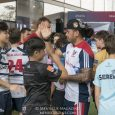 With Fiji legend Waisale Serevi serving as an enthusiastic referee, internationally-ranked rugby players played catch with local youth at a series of Hong Kong Sevens 2018 clinics.