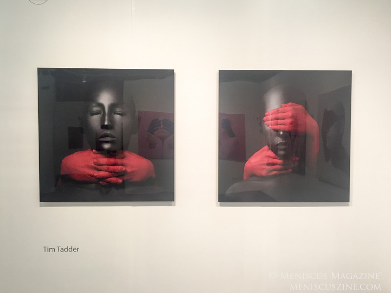 Tim Tadder: Nothing to See - Artexpo New York 2018 (photo by Megan Lee / Meniscus Magazine)