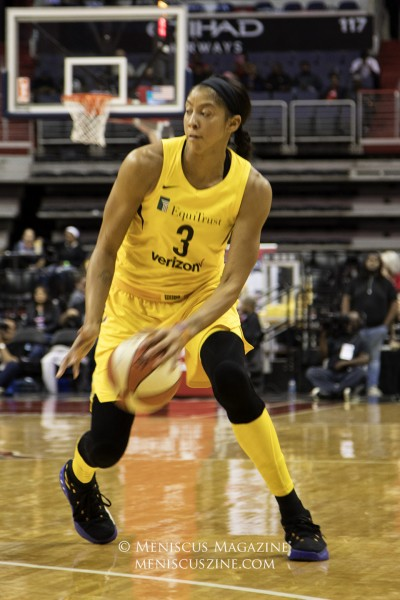 Candace Parker of the Los Angeles Sparks. (photo by Kwai Chan / Meniscus Magazine)