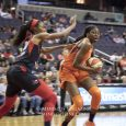 Behind by three at the half, the Washington Mystics (9-5) outscored the Sun (8-6), 33-15, in the third quarter and never looked back.