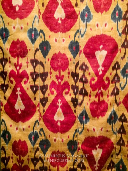 "From the ""To Dye For: Ikats from Central Asia"" - Smithsonian's Freer