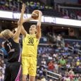 With five straight wins, the Washington Mystics are now in third place in the WNBA standings after clinching a playoff berth.