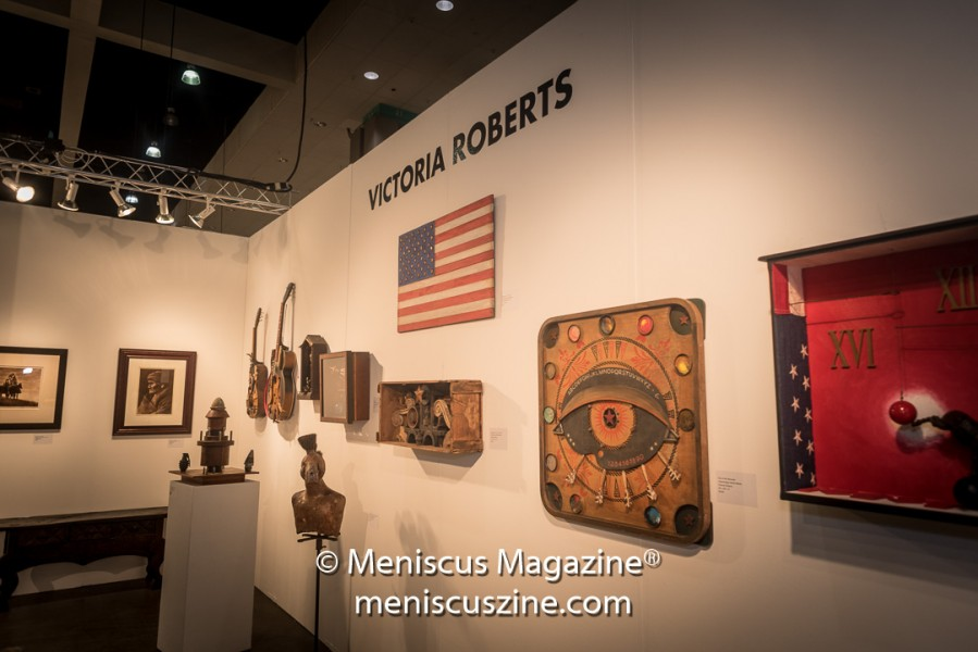 In addition to California, Victoria Roberts has shown her work at art events in Michigan, Arizona and New Mexico, where she currently resides. (photo by Ali Zandi / Meniscus Magazine)