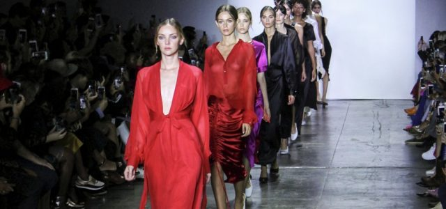 """Nonie designer Nina Kharey intended to create clothing """"for a clean, relaxed aesthetic,"""" but the simplicity of the designs lacked inspiration."""