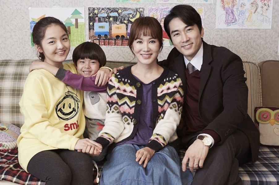 "(L-R) Seo Shin-ae, Jung Ji-hoon, Uhm Jung-hwa, and Song Seung-heon in Kang Hyo-jin's ""Wonderful Nightmare."""