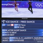 2018 Winter Olympics - Free Dance - Gold - Tessa Virtue and Scott Moir (CAN)_05