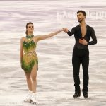 2018 Winter Olympics - Free Dance - Short Program - Gabriella Papadakis and Guillaume Cizeron (FRA)_01