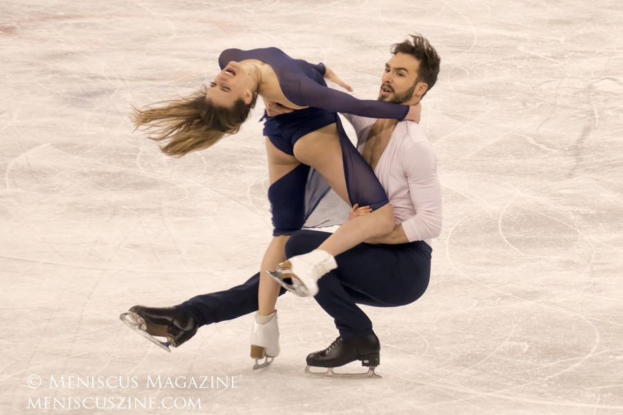 2018 Winter Olympics - Free Dance - Silver - Gabriella Papadakis and Guillaume Cizeron (FRA)_03