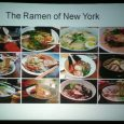In 2011, the Japan Society in New York decided to host an event on a growing culinary phenomenon - now a mainstream staple - in the city: ramen.