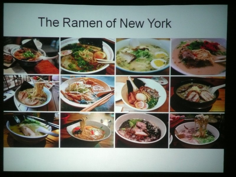 On Feb. 8, 2011, the Japan Society in New York decided to host a series of presentations on a growing culinary phenomenon - now a mainstream staple - in the city: ramen. (photo by Francis Chin / Meniscus Magazine)
