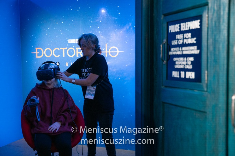"""Doctor Who: The Runaway"" (photo by Asya Gorovits / Meniscus Magazine)"