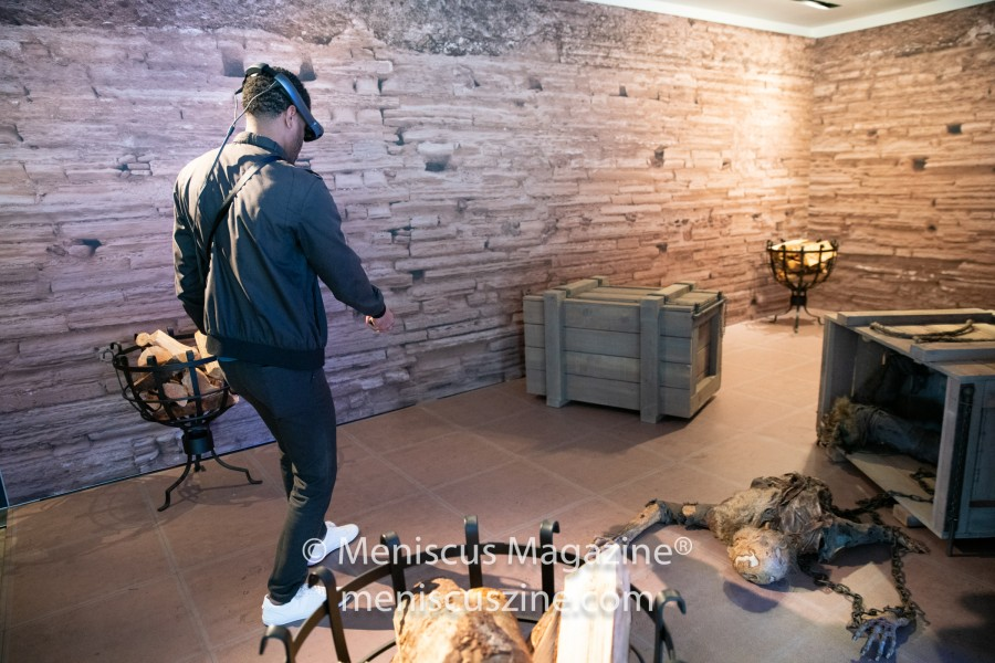 """The Dead Must Die: A Magic Leap Encounter"" (photo by Asya Gorovits / Meniscus Magazine)"