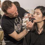 Yohji Yamamoto Backstage Hair and Makeup Fall 2019 - Paris Fashion Week_100301_19