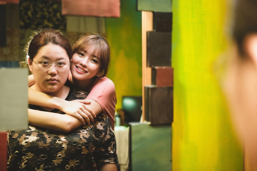 "Tsai Jia-yin (left) during her star turn as Ying-Juan in ""Heavy Craving."" (still courtesy of the Busan International Film Festival)"
