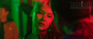 """Kim Eun-young, better known as the rapper Cheetah, in """"Jazzy Misfits."""" (still courtesy of the Busan International Film Festival)"""