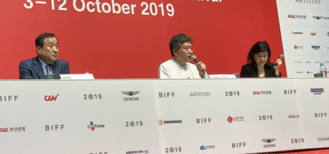 """Hirokazu Kore-eda's latest work, """"The Truth,"""" made its Asian Premiere in Busan and is his first film made outside of his native country."""