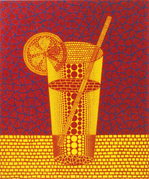 Lemon Squash (5) Artist: Yayoi Kusama (image courtesy of Art Santa Fe)
