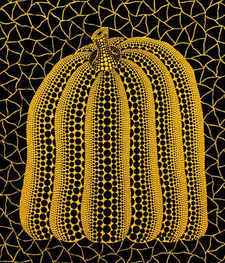 Pumpkin ST Artist: Yayoi Kusama (image courtesy of Art Santa Fe)