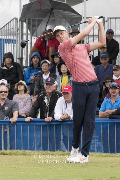 Cameron Davis of Australia was tied for 11th at 5-under. (photo by Kwai Chan / Meniscus Magazine)