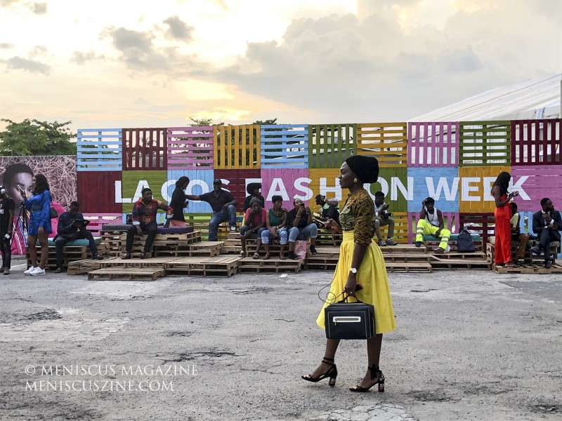 The 2019 edition of Lagos Fashion Week took place at the Federal Palace Hotel from Oct. 23-26. (photo by Andie Davis / Meniscus Magazine)