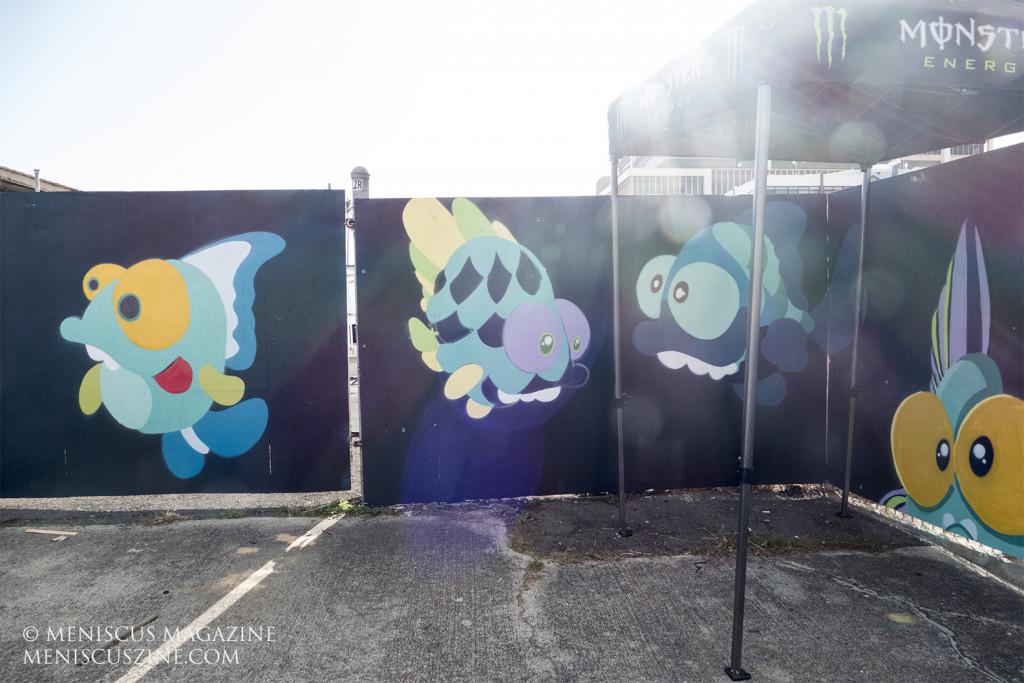 Gary Draws Fish - POW! WOW! Hawaii 2020