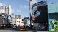 """BunnyKitty artist Dave """"Persue"""" Ross's murals have been featured in galleries and buildings across the world, including Seoul and Kobe."""