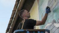 The He'e octopus was the focus of German artist CZOLK's mural in Honolulu.